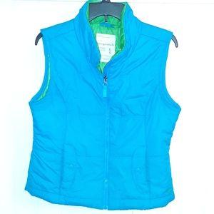 Blue/ Green Puffer Aeropostale Vest